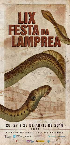 Cartel Fiesta de la Lamprea